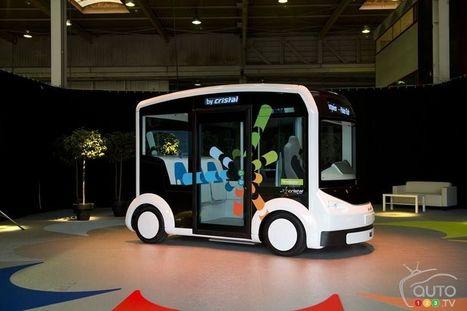 Voici Cristal, le véhicule électrique à double usage   Groupe Recharge   Scoop.it