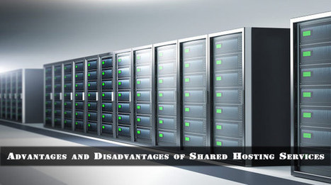 Shared Hosting Services Advantages and Disadvantages | Webhosting | Scoop.it