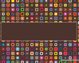 Colorful Squares Retro Powerpoint Template | Powerpoints | Scoop.it