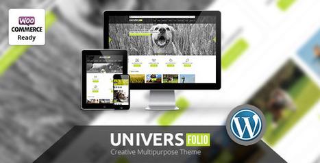 Universfolio - Multipurpose WordPress  Theme   Medical wordpress themes   Scoop.it