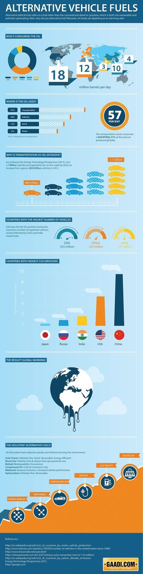 Alternative Fuels for Automobiles - Gaadi.com | Peer2Politics | Scoop.it