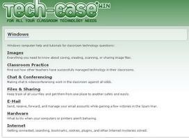 Educational Technology Guy: Tech Ease - great tech support site for educators | Notícias TICXEDU | Scoop.it