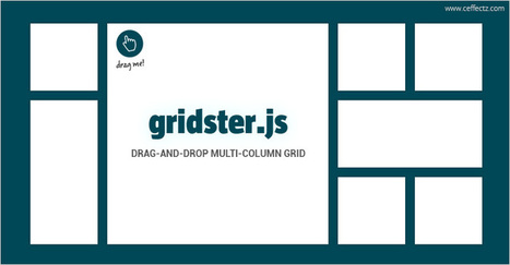 Drag and drop grid elements - Gridster.js | Ceffectz offers creative web design and development services at an affordable price. Visit our website to request a quote today | Scoop.it
