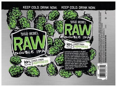 Sam Adams' Rebel Raw Is a Cult Beer for the Everyman | Urban eating | Scoop.it