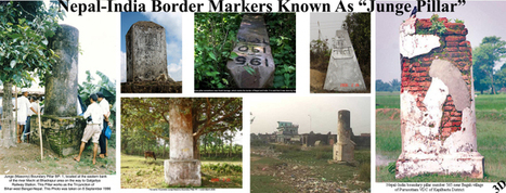 "NEPAL-INDIA Border Markers known as ""Junge Pillar"" 