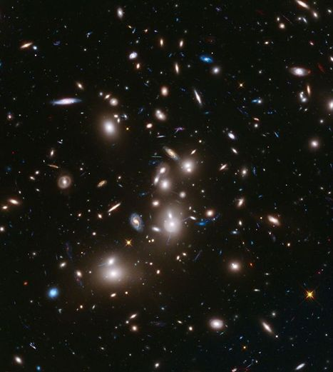 New Hubble Image Yields Deepest Views Ever of the Universe --Reveals Monster Galaxies 100 Times More Massive than Milky Way | Atotsm (A Taste of the Social Media) | Scoop.it
