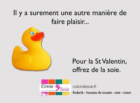 Humour, canard et St Valentin | article sur les tissus utilisés dans la mode | Scoop.it