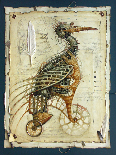 Awesome art of the day: Clockwork animals... | All Geeks | Scoop.it