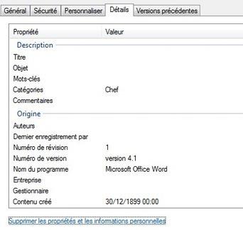 Supprimer les métadonnées d'un document Microsoft Office rapidement | Bureautique pratique | Scoop.it
