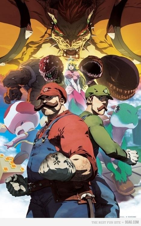 50 Incredible Super Mario Bros Artworks | inspirationfeed.com | Roi Boo News | Scoop.it
