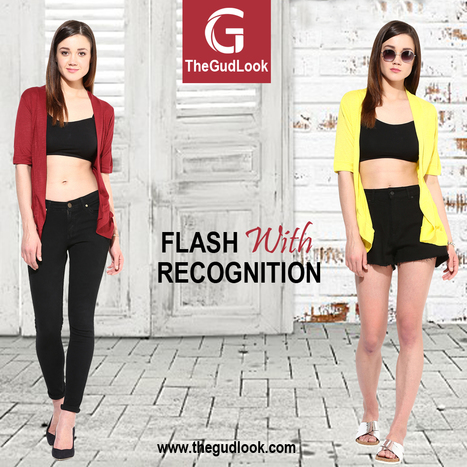 Flash With Our New Shrug Collection  For Buy Visit # www.thegudlook.com | Street Fashion is what thegudlook.com promises to bring to you Online every day week after week. | Scoop.it