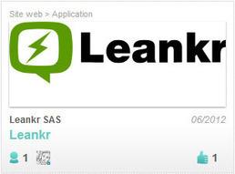 Leankr :Un programme télé enrichi sur votre second écran | Cabinet de curiosités numériques | Scoop.it