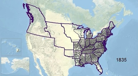 Animated history of US county boundaries | Des liens en Hist-Géo | Scoop.it