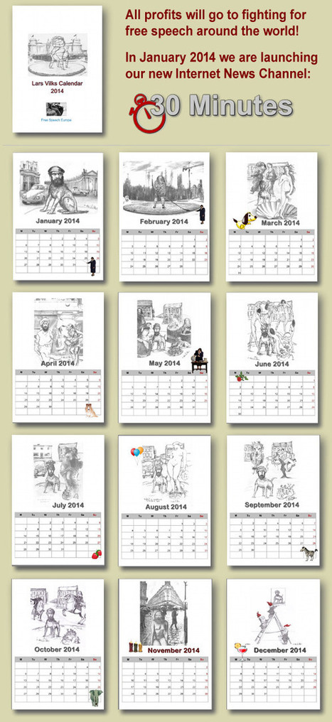 The Vilks Calendar « Lars Vilks – Free Speech Europe EN | Naked Art | Scoop.it