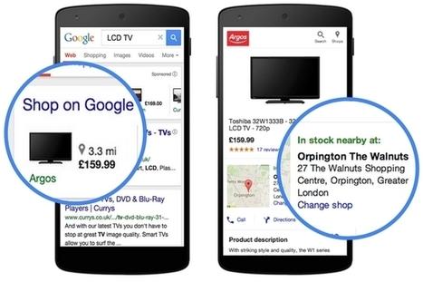 Google Shopping tend la main aux magasins physiques   PPC référencement payant   Scoop.it