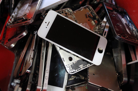 Where Your iPhone Goes to Die (and Be Reborn) | Write The Future | Scoop.it