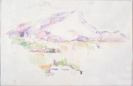 La Montagne Sainte-Victoire (aquarelle), de Cézanne - Arts & Spectacles - France Culture   Et la culture ?   Scoop.it