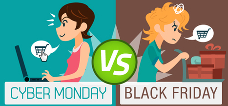 Cyber Monday vs. Black Friday: How Do You Prefer to Shop? [EXCLUSIVE]   Ecom Revolution   Scoop.it