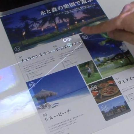 Fujitsu Develops Technology That Turns Paper Into a Touchscreen | New technologies | Scoop.it
