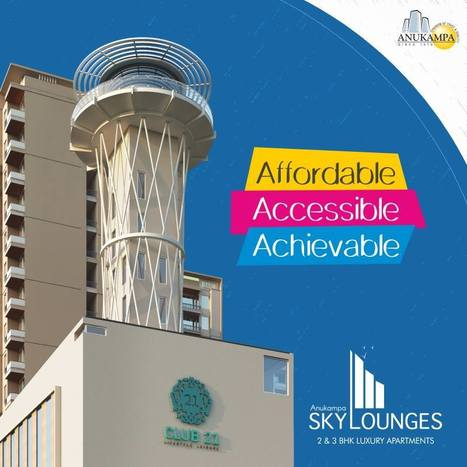 3 BHK flats starting from INR 39.5 lac | Residential Projects | Scoop.it