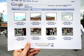 Une recherche Google dans la vraie vie | Veille techno internet | Scoop.it