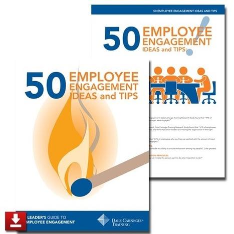 "50 Employee Engagement Tips | Free eBooks | ""employee engagement enhancement"" | Scoop.it"