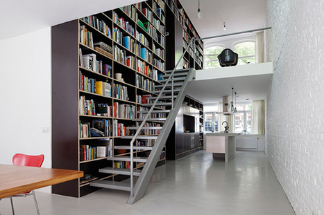 Vertical Loft Taking Advantage of the Industrial Frame, Rotterdam | Interior & Decor | Scoop.it