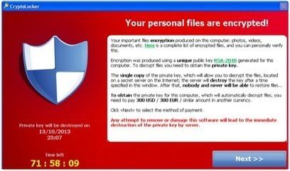 Qu'est ce que les ransomwares et comment se protéger contre ces malwares dangereux ? | Time to Learn | Scoop.it
