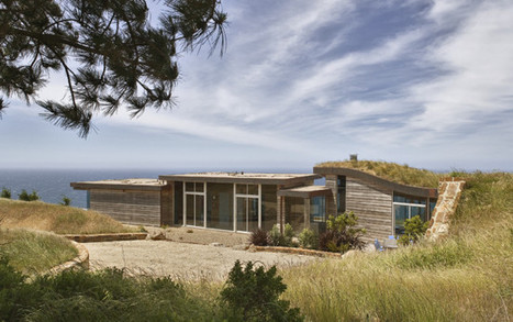 Seamless and sustainable architecture in Big Sur, California | Towards A Sustainable Planet: Priorities | Scoop.it