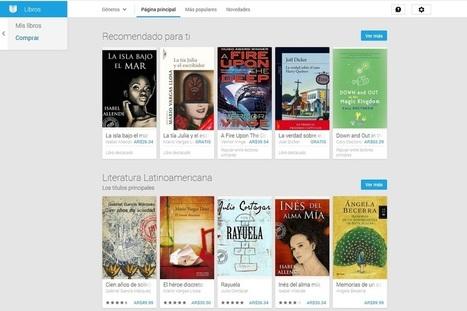 Google abrió su tienda de libros electrónicos en la Argentina | BIBLIOTECA PARA TOD@S | Scoop.it