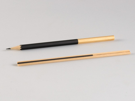 A Pencil That Lets You Use It Until The End Of Its Lead   Communication design   Scoop.it