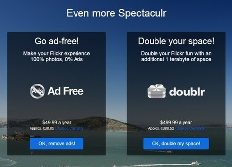 Yahoo présente le nouveau Flickr, qui offre désormais 1 To de stockage | Geeks | Scoop.it