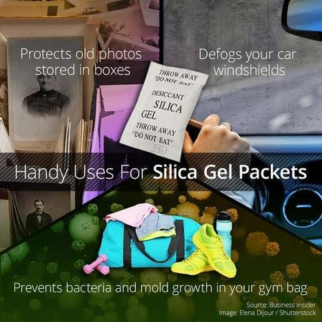 Don't Throw Out Those Packets Of Silica Gel | FOOD? HEALTH? DISEASE? NATURAL CURES??? | Scoop.it
