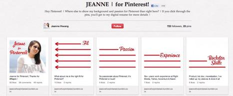 Job Seeker Turns Pinterest Board Into CV | CareerOz | Scoop.it