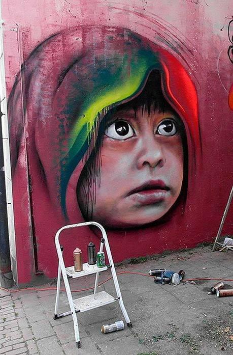 Arte urbano y pintura de MATT ADNATE. | Arte, Artistillas y Artistas... | Scoop.it