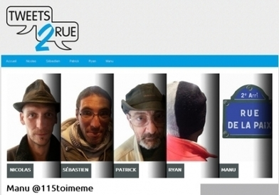 #tweets2rue, un mois après - France Info | Association solidaire, aide alimentaire , aide aux personnes en difficulté | Scoop.it