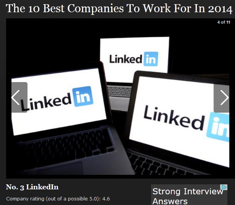 The Best Companies To Work For In 2014 | All About LinkedIn | Scoop.it