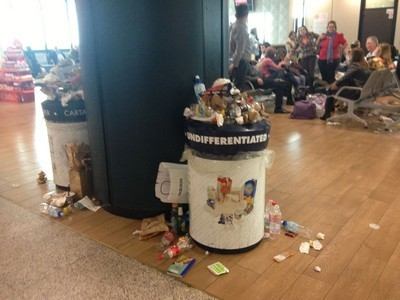 Euro-trash Takes Over Rome Airport, Demonstrates The Real Cost of Our Disposable Culture | The Glory of the Garden | Scoop.it