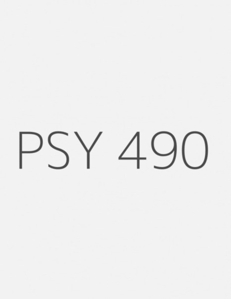 PSY 490 Week 2 Individual Assignment: Portfolio Presentation | UopGuide.com | Scoop.it