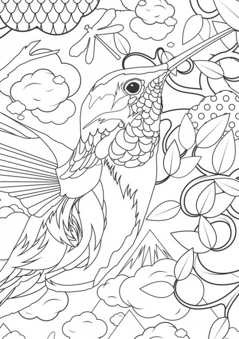 Ten utterly brilliant colouring-in exercises for adults tohelp you relax | disruptive technolgies | Scoop.it