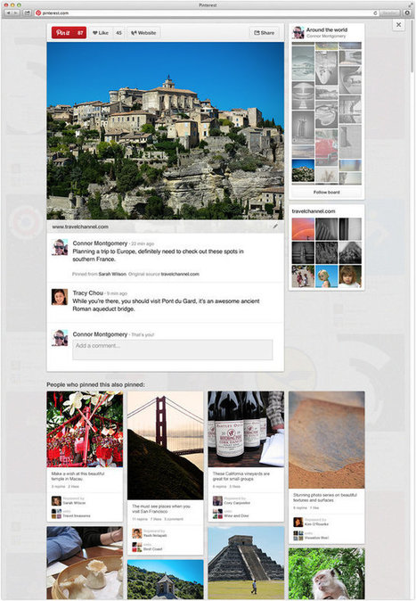 3 Smart Details From Pinterest's New Design | pinterest for research | Scoop.it