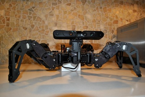 "My Raspberry Pi Robot Called Charlotte | A Hexapod robot with a Raspberry Pi as the ""brain."" 
