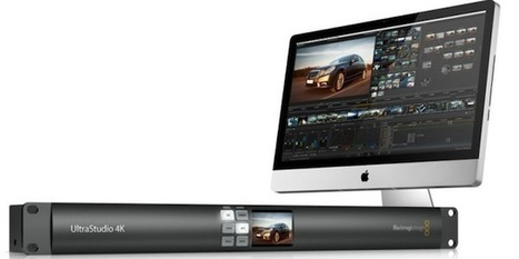 UltraStudio 4K announced by Blackmagic at IBC 2012 | Technical & Social News | Scoop.it