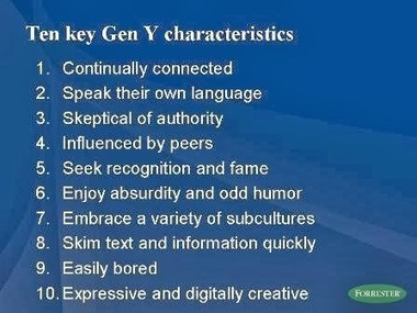 A Media Specialist's Guide to the Internet: Understanding Generation Y | Reading for English language learners | Scoop.it