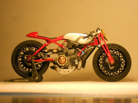 Ducati Desmosedici Cucciolo Concept by Alex Garoli | Ductalk Ducati News | Scoop.it