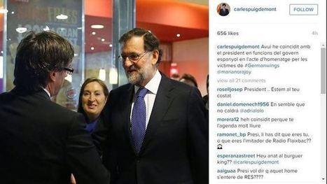 La Moncloa va ordenar a Puigdemont que no acompanyés Renzi | Protocorol·lari | Scoop.it