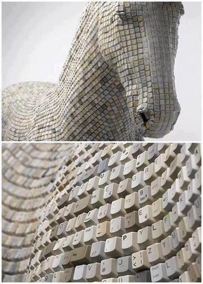 Twitter / EvisNVega : #Recicla Mira esta escultura ... | arte | Scoop.it