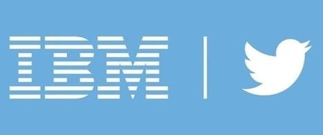 Les services d'analytics d'IBM vont puiser dans Twitter   Social Media, Communication, PR,...   Scoop.it