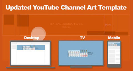 YouTube Channel Art Template: Updated for iOS and Android   Blogging, Social Media, Marketing, Entrepreneurs   Scoop.it