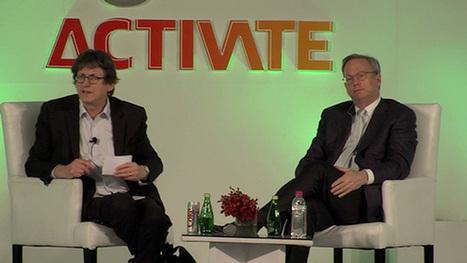 Activate India - Eric Schmidt and Alan Rusbridger in conversation - video | Technology Progress | Scoop.it